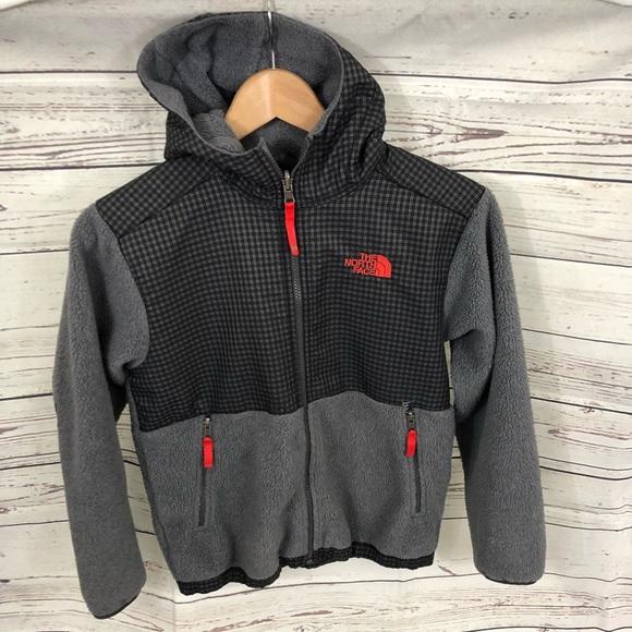 497af0a64 The North Face Boys Denali Hooded Fleece Jacket